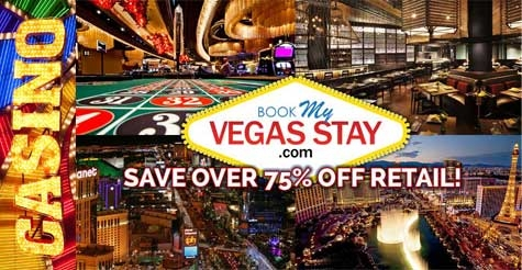 $49 for 2 nights at a Major Hotel & Casino on the Las Vegas Strip from Casablanca Express