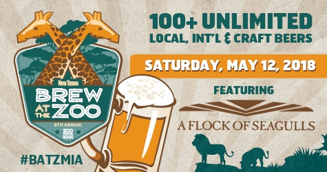 $25 for Brew at the Zoo GA Ticket!