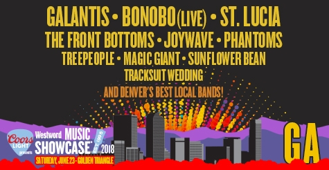 $35 General Admission Ticket to Westword Music Showcase 2018