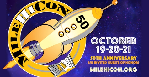 $25 for 3-day pass to MileHiCon 50: Colorado's Premier Science Fiction and Fantasy Literary Convention