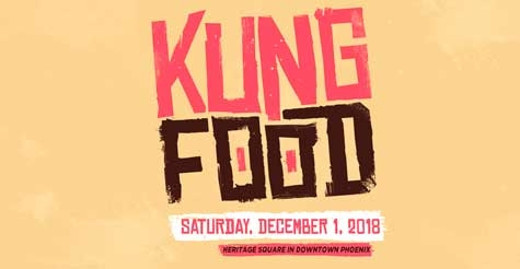 2 for 1 Tickets to Kung Food Fest