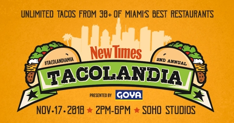$29 for Tacolandia GA Ticket
