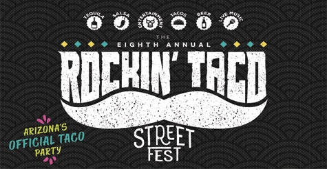2 GA Tickets for $12 to Rockin' Taco Street Fest