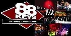 $15 for $30 food, drink & entertainment at 88 Keys