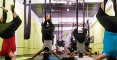 $59 for 1 Month of Unlimited Mat-Based and Aerial Yoga Classes