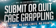 $5 ticket to see Submit or Quit Cage Grappling