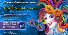 $14 Kevin Larson Presents the 6th Annual Denver Mardi Gras