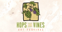 $5 ticket to the Hops & Vines Art Festival