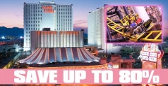 $35 for 2 nights at the Circus Circus Hotel & Casino in Las Vegas, Las Vegas BITE Card and a $50 Restaurant.com gift card