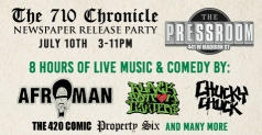 $5 ticket to see Afroman & more at The 710 Chronicle release party
