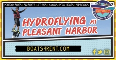 20% off on 15 Minutes of Hydroflying at Pleasant Harbor