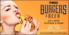 $50 General Admission to LA Weekly's Burgers & Beer