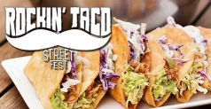 $4 ticket to Rockin' Taco Street Fest