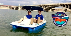 $15 for 1 Hour of Pedal Boats at Tempe Town Lake!