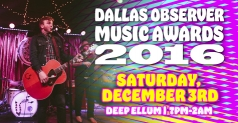 $8 for General Admission Ticket to Dallas Observer Music Awards on December 3rd