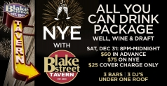 $30 for Blake Street Tavern's New Year's Eve Party