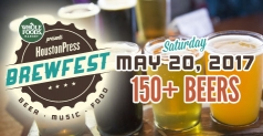 Discounted Tickets to Houston Press BrewFest
