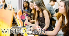 $25 for One BYOB Paint -Sip Class at Wine & Design North Scottsdale