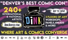 $15 for Day Pass to Dink Comic on April 14th & 15th