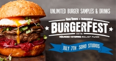 $15 for New Times Burgerfest Ticket!