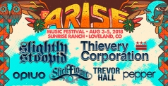 $199 One 3- day ticket w/ Northside Camping and VIP Experience Upgrade to Arise Music Festival August 3-5, 2018