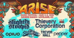$229 One 3- day ticket w/ Northside Camping and VIP Experience Upgrade to Arise Music Festival August 3-5, 2018