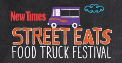 $8 for a GA Ticket to the Street Eats Food Truck Festival