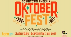 2 Tickets for $10 to the Downtown Phoenix Oktoberfest