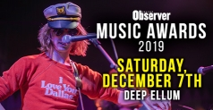 $8 for General Admission Ticket to Dallas Observer Music Awards on December 7th