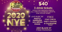 $40 for Blake Street Tavern's New Year's Eve Party