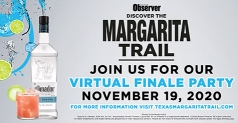$15 for 2 Tickets to Margarita Trail Virtual Finale Party